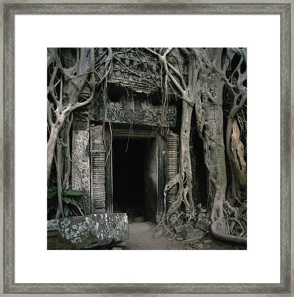 Ancient Angkor Framed Print