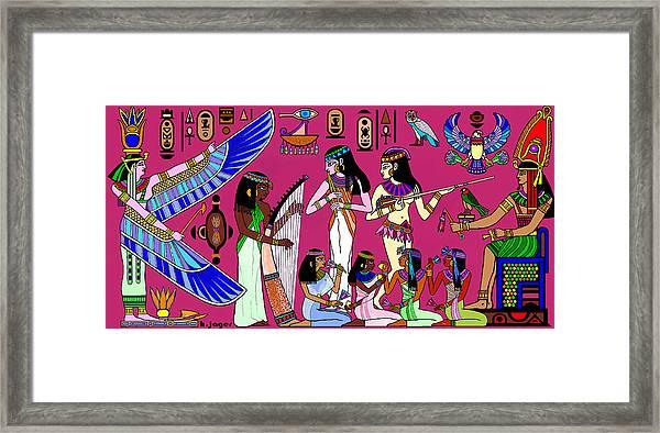 Ancient Egypt Splendor Framed Print