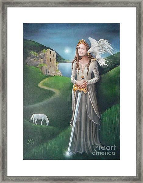 Ancient Queen Framed Print