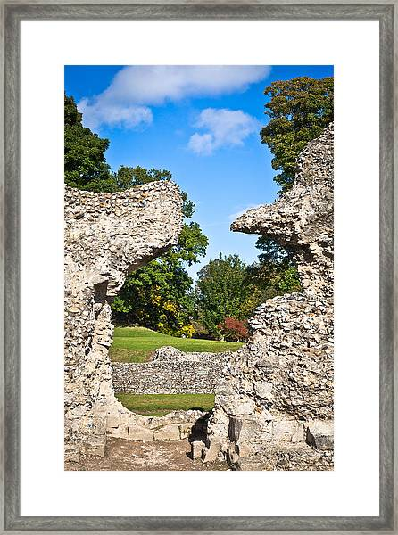 Ancient Ruins Framed Print