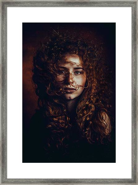 And God Said, Let There Be Redheads Framed Print