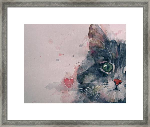 And I Love Her Framed Print by Paul Lovering