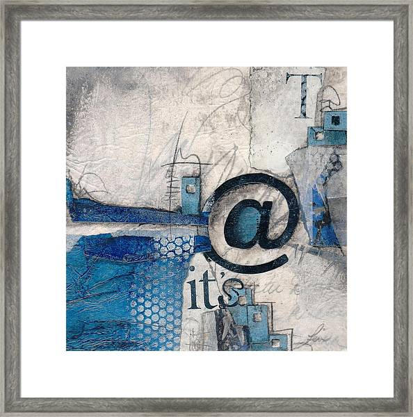 And It's Just Winter Drama  Framed Print
