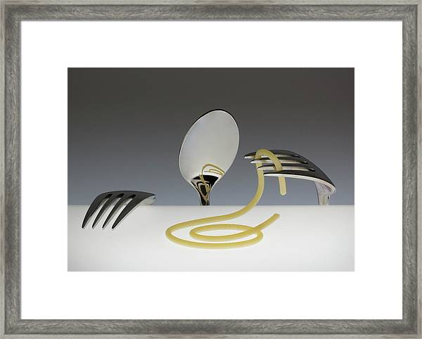 And Now...? Eat? Part 1 Framed Print