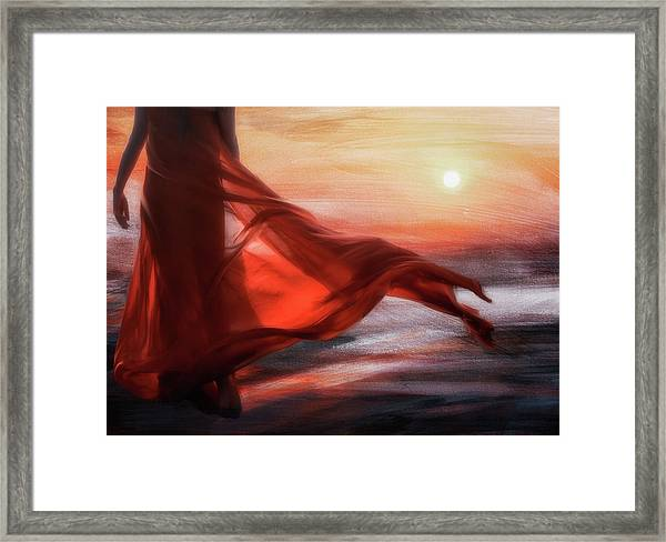 And The Sun Will Make For Your Way... Framed Print