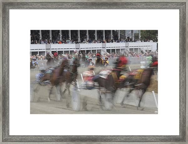And They Are Off Framed Print