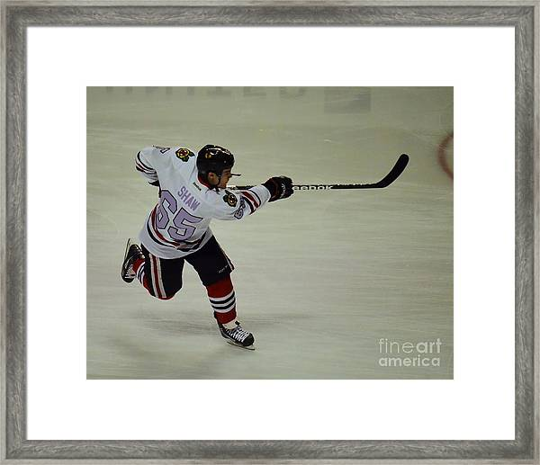Andrew Shaw Fights Cancer Framed Print