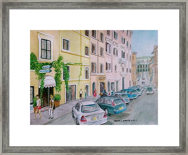 Anfiteatro Hotel Rome Italy Framed Print