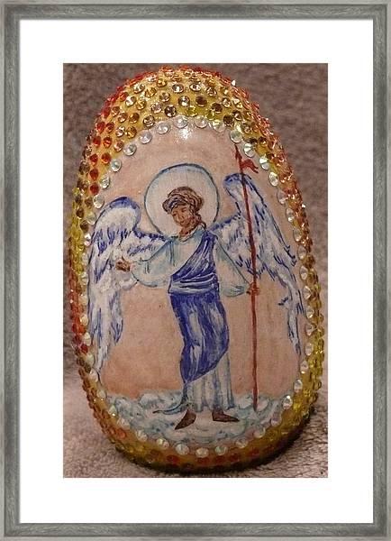 Angel Gabriel Framed Print