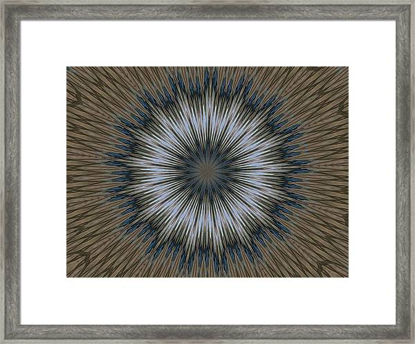 Angel Kaleidoscope Two Framed Print