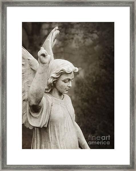 Angel Of Comfort Framed Print