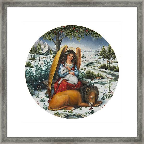 Angel Of Peace Framed Print