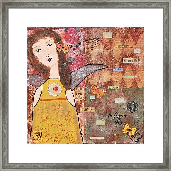 Angel Of Promise Framed Print