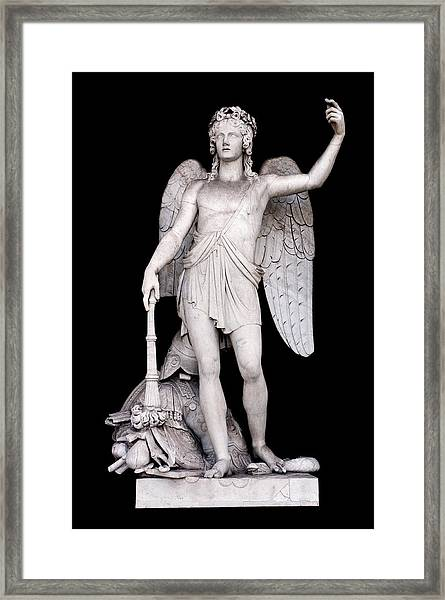 Angel Of The Arts Framed Print