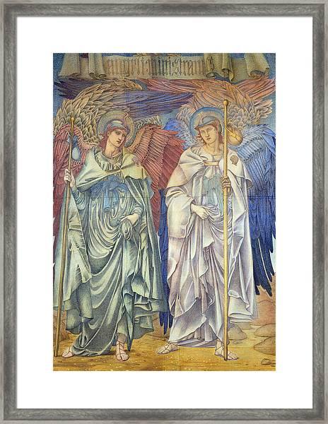Angeli Ministrantes Framed Print