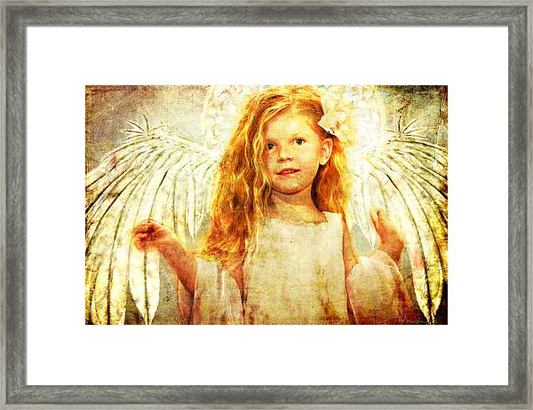 Angelic Wonder Framed Print