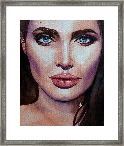 Angelina Framed Print