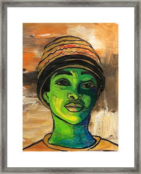 Angelique Framed Print