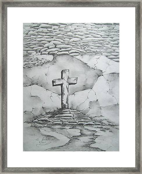 Angels Are Here Framed Print by Tom Rechsteiner