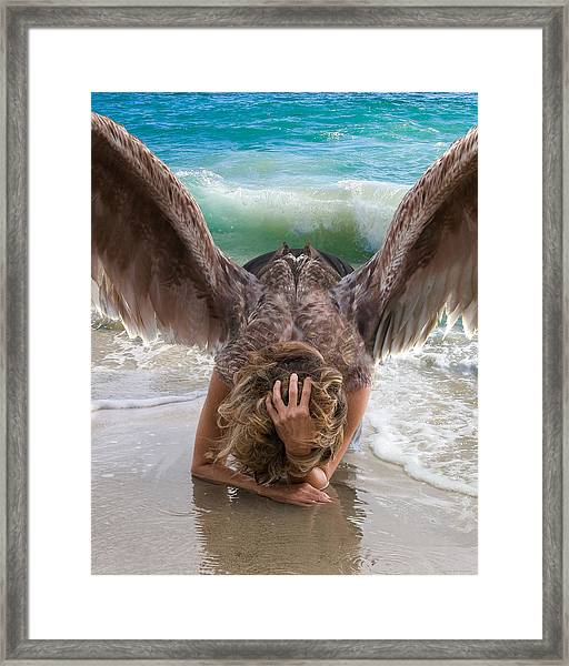 Angels- Be A Light To Those In Darkness Framed Print