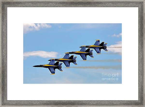 Angels Of The Sky Framed Print