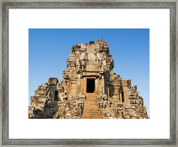Angkor Temple Framed Print