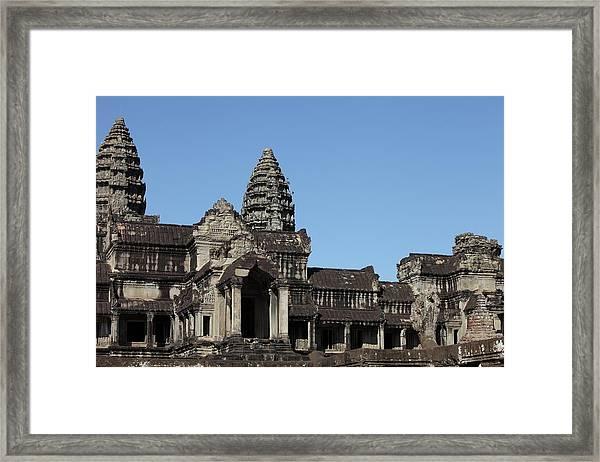 Angkor Wat Temple, Cambodia Framed Print