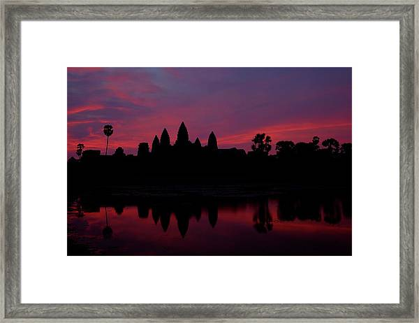 Angkor Wat, The Mandatory Shot Framed Print