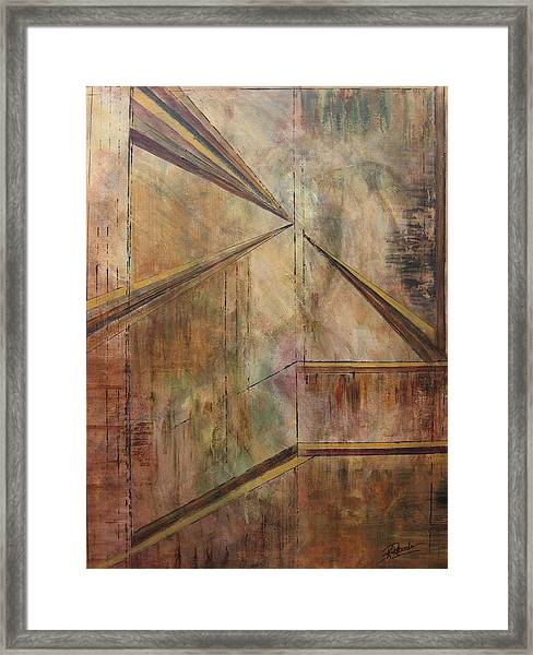 Angles Of Enlightenment Framed Print