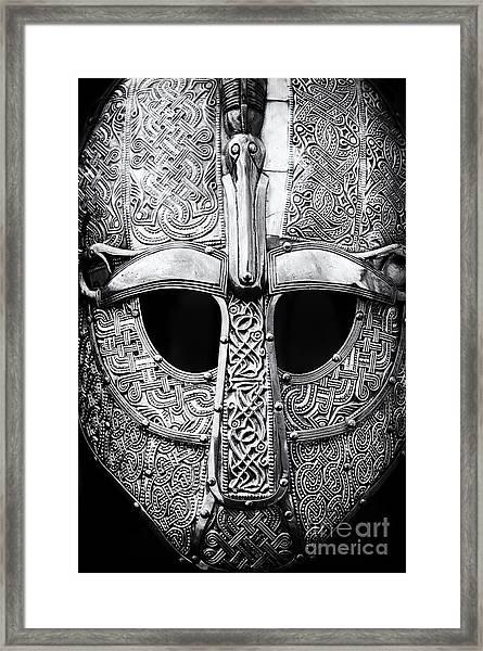 Anglo Saxon Helmet Framed Print
