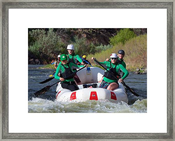 Framed Print featuring the photograph Animas Amazons by Britt Runyon