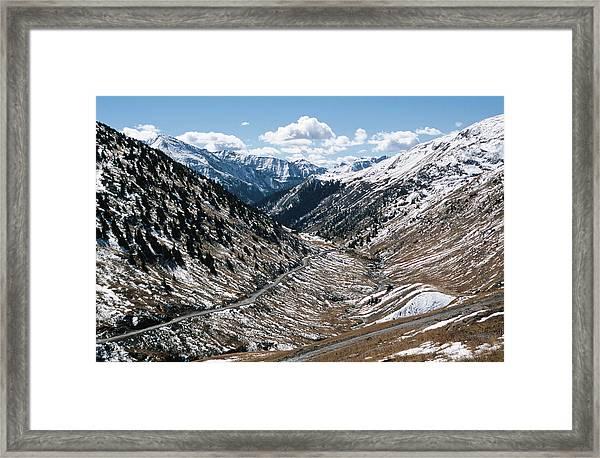 Animas River Canyon, Alpine Loop, San Framed Print