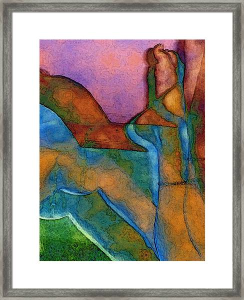 Anklet Framed Print