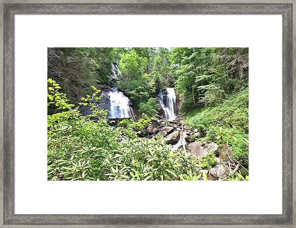 Anna Ruby Falls - Georgia - 1 Framed Print