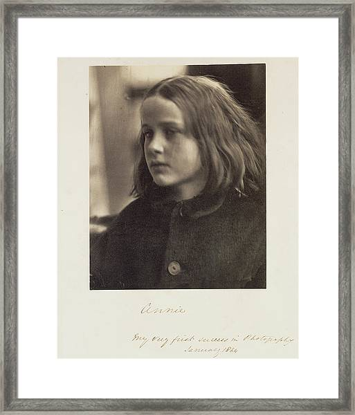 Annie Julia Margaret Cameron, British, Born India Framed Print