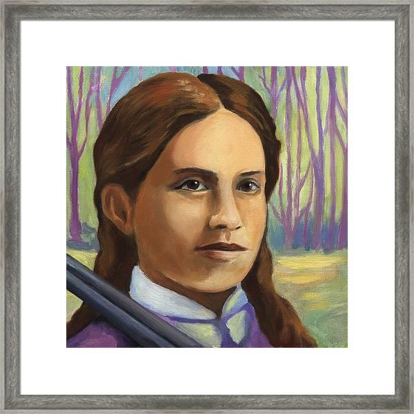 Annie Oakley Framed Print