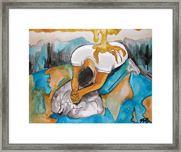Anointed One Framed Print