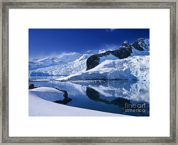 Antarctic Paradise Framed Print