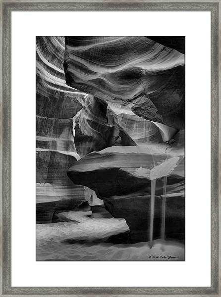 Antelope Canyon 2 Framed Print