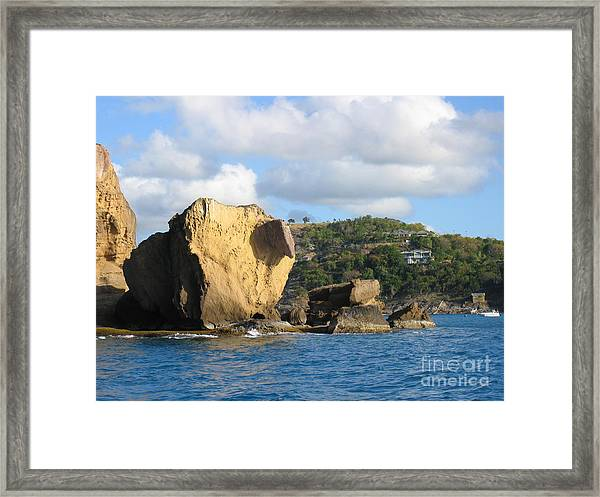 Antigua - Aliens Framed Print