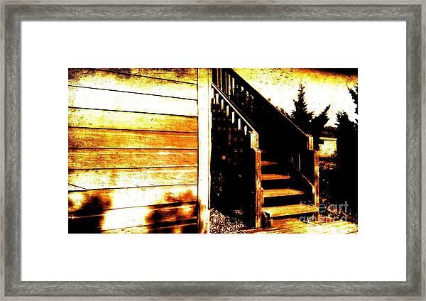Antique Barn Framed Print