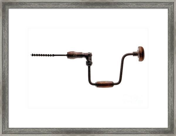 Antique Drill  Framed Print