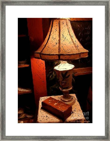 Antique Lamp Framed Print