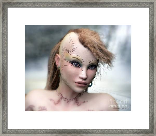Aphrodite Framed Print by Sandra Bauser Digital Art