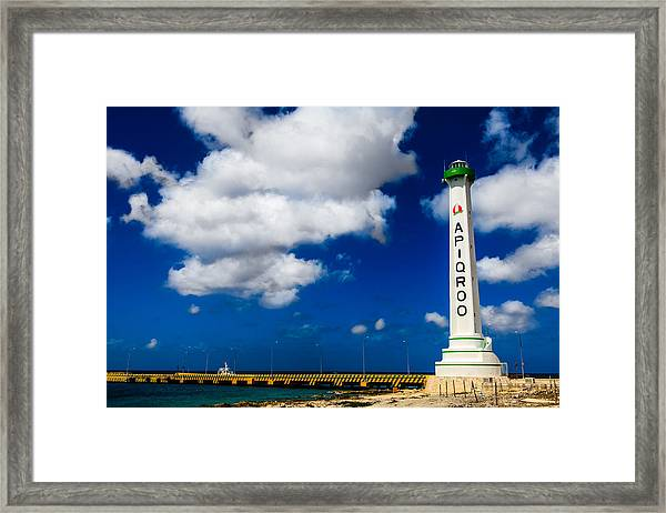 Apigroo Lighthouse Framed Print
