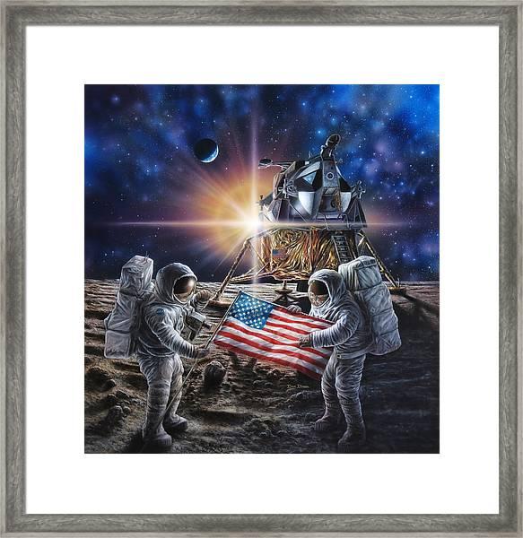 Apollo 11 Framed Print