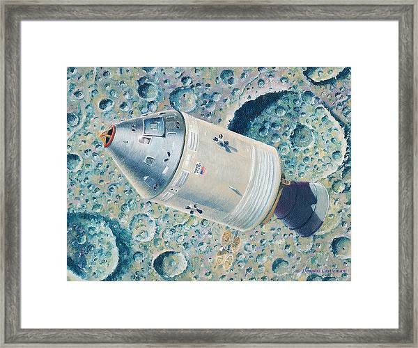 Apollo 8 Framed Print
