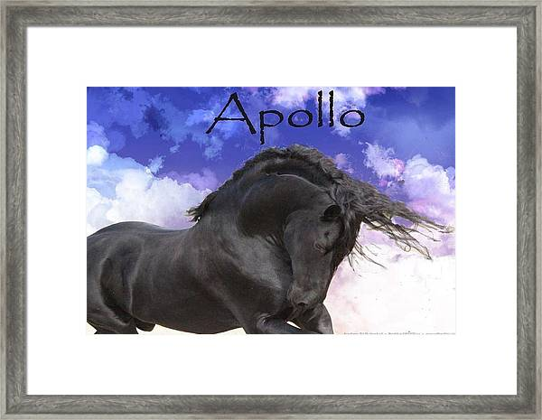 Apollo The Great Framed Print