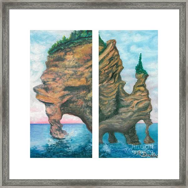 Apostle Island Framed Print