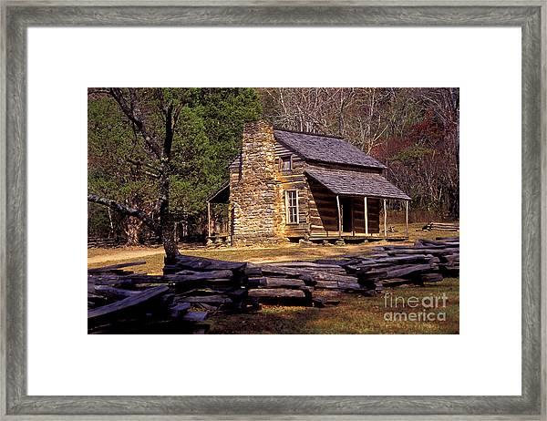 Appalachian Homestead Framed Print